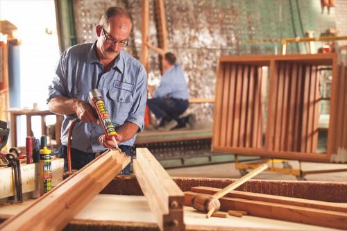 Incollare legno, legno grezzo, MDF, perline, parquet